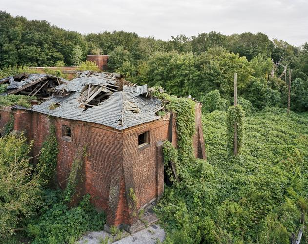 <p>Coalhouse, North Brother Island, New York</p>