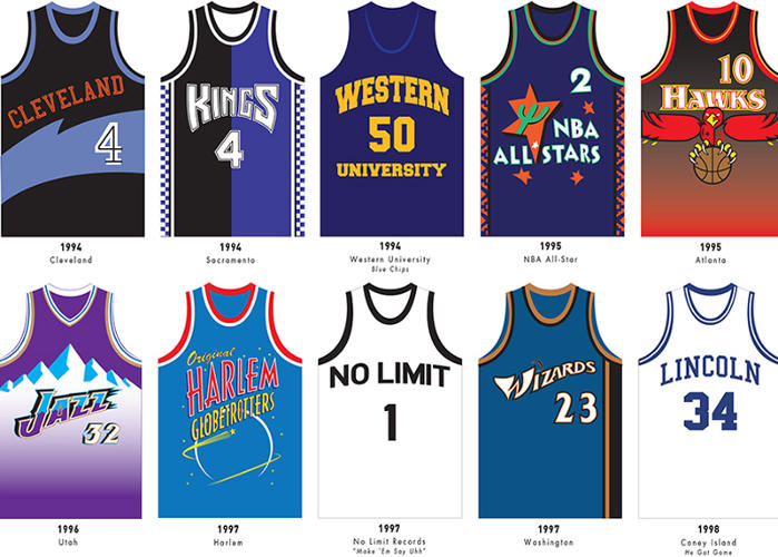 <p>Master P's No Limit jersey wasn't just posturing; the rapper was good enough to actually score a pre-season contract in the NBA, though he never played in the league.</p>