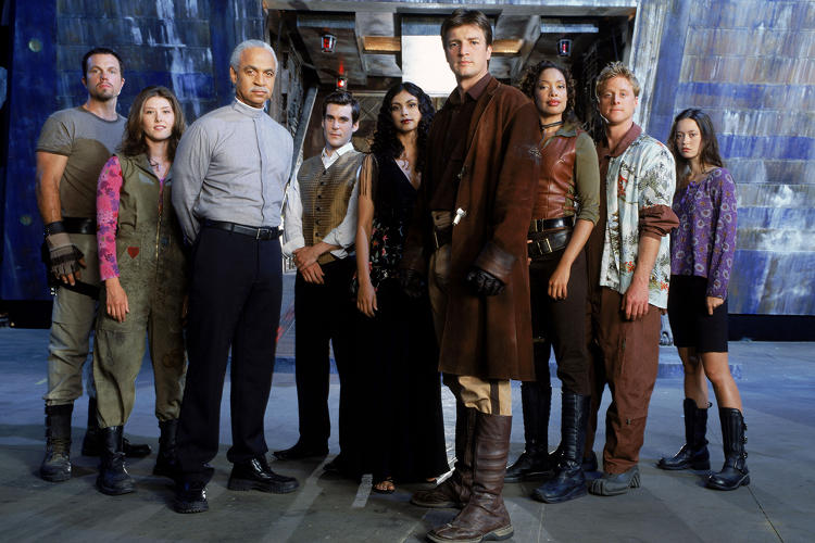 <p>Firefly is only 14 episodes and a movie, so you don't really need to skip any of it. If you're horribly pressed for time, though, here's what I would personally skip:</p>  <p>Ep 3, Bushwacked</p>  <p>Ep 5, Safe</p>  <p>Ep 12, The Message</p>  <p><a href=&quot;http://skippable.tumblr.com/post/86108318232/firefly&quot; target=&quot;_blank&quot;>Read more here</a></p>