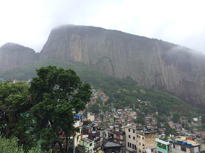 <p>This past April, I found myself on my first ever motorcycle ride, speeding on the back of a motorcycle taxi headed to the top of Rocinha, Rio De Janeiro's largest favela.</p>
