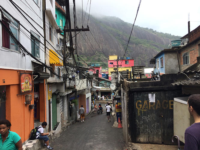 <p>Called The Favela Experience, it provides reasonably-priced housing for visitors in a handful of Rio's favelas, including Rocinha and Vidigal, a rapidly-gentrifying favela nearby (a private room might cost $38 per night, though prices go up during major city events).</p>