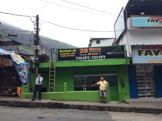 <p>The business is an attempt, he says, to clear up the negative perceptions of favelas that pervade society and make money at the same time. When I met him in April, his dozen-plus properties were already 90% booked for June's World Cup.</p>