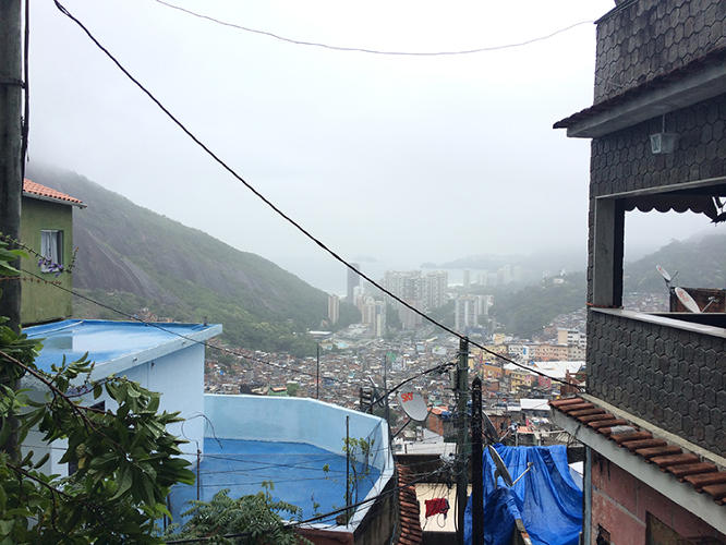 <p>Rosenberg lives in Rocinha himself, spreading the word about his business mostly via word of mouth.</p>