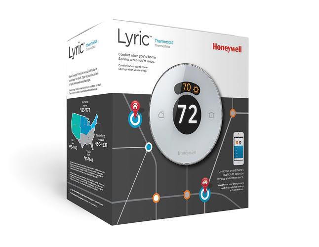 <p>The thermostat is available now through Honeywell HVAC service agents, and this August from store shelves.</p>