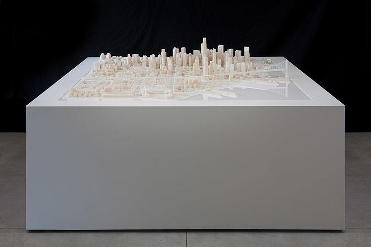 <p>The model doesn't over the entire city--it spans over 115 blocks in the financial district and SOMA, two neighborhoods that are undergoing dramatic changes as new office buildings, apartment complexes, and public projects pop up.</p>