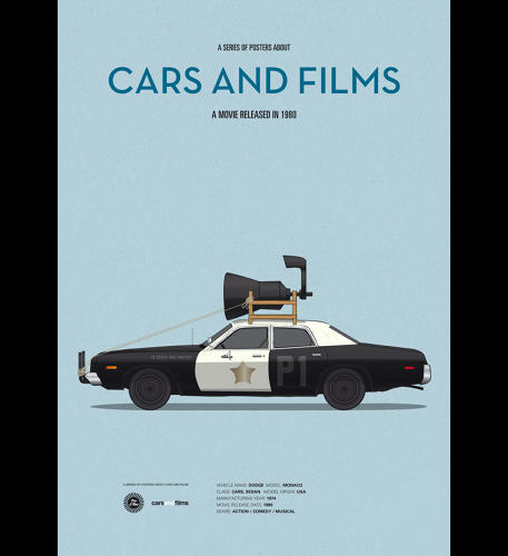 <p>Where would the Blues Brothers be without their beat-up police cruiser?</p>