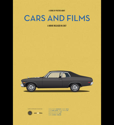 <p>The style of the movie posters is pared-down; it's hard to even find details about the movie itself.</p>