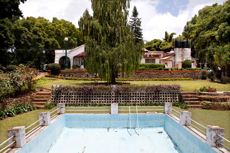 <p>A colonial English swimming pool, now owned by an Indian family.</p>