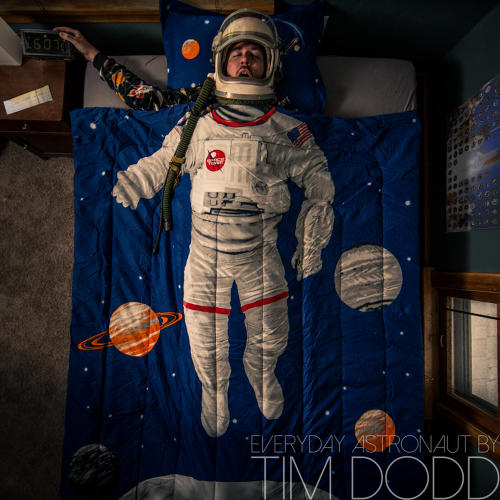 <p>&quot;I bought the suit completely on a whim,&quot; Dodd says. &quot;I thought, this is so ridiculous, I have to do this. It's kind of become the projection of my inner child and my love for space.&quot;</p>
