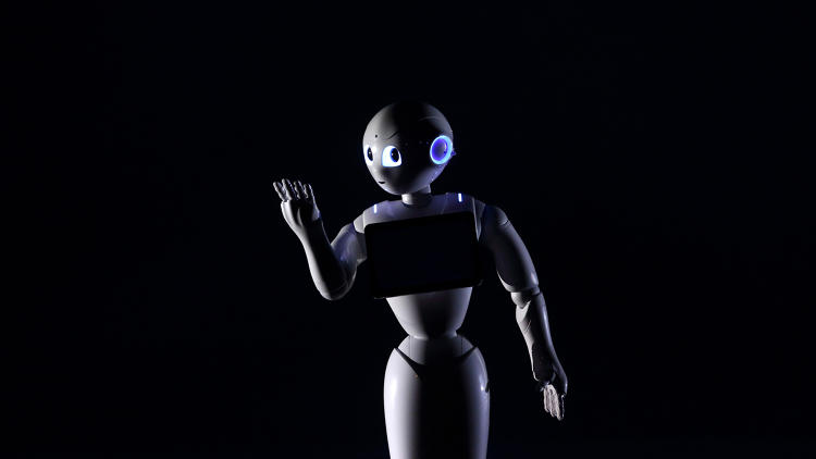 <p>Created by <a href=&quot;http://www.softbank.jp/en/corp/group/sbm/news/press/2014/20140605_01/&quot; target=&quot;_blank&quot;>Japanese firm SoftBank</a>, Pepper judges situations with its many sensors--reading emotions through facial expressions and voice tone.</p>