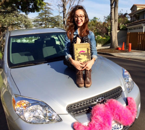 <p>Natacha Bensoussan, whose Book Lyft encourages passengers collaborate on stories and poems in the &quot;Decomposition Book&quot; she carries in her car, says she &quot;wanted to find a unique way to engage people that not only stimulated their creative side, but required them to put down their space phones and interact with their fellow peers.&quot;</p>