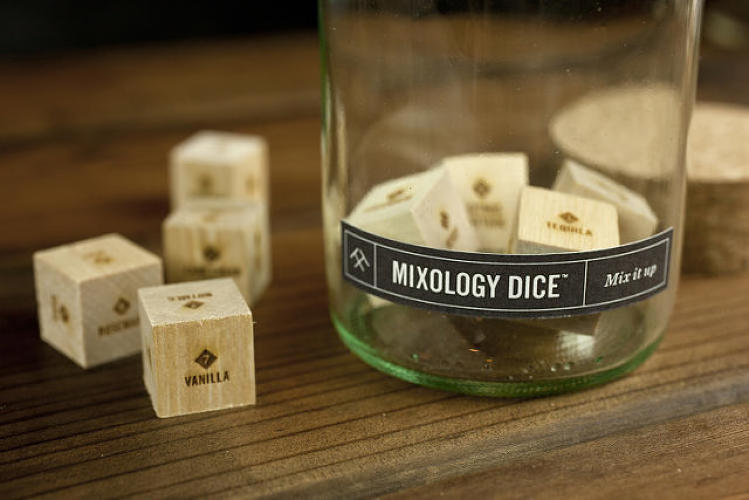 <p><strong>Stuck-in-a-gin-and-tonic-rut dad</strong></p>  <p>A set of <a href=&quot;http://www.fastcodesign.com/3030894/wanted/roll-these-wooden-dice-to-be-a-foolproof-mixologist&quot; target=&quot;_self&quot;>mixology dice</a> includes wooden dice that blends eight possible ingredient types (spirit, sugar, liqueur, citrus, fruit, herb, spice, and bitters) in 1.5 million cocktail combinations. Father's Day is about to get a whole lot more interesting.</p>