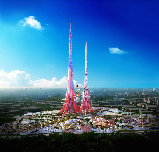 <p>Two months after Saudi Arabia <a href=&quot;http://www.cnn.com/2014/04/17/world/meast/saudi-arabia-to-build-tallest-building-ever/&quot; target=&quot;_blank&quot;>announced plans</a> for the Kingdom Tower, a one-kilometer skyscraper overlooking the Red Sea, China is <a href=&quot;http://www.worldarchitecturenews.com/index.php?fuseaction=wanappln.projectview&amp;upload_id=24406&quot; target=&quot;_blank&quot;>raising the stakes</a>.</p>