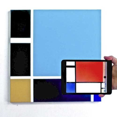 "<p>&quot;The experience of looking through the smartphone is more pleasurable than simply looking at the painting directly,"" Feld says.</p>"