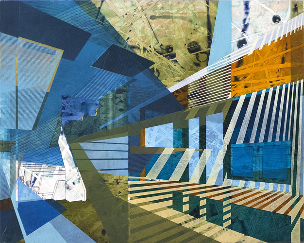<p>In several painting series, Brooklyn-based artist<a href=&quot;http://benboothby.com/&quot; target=&quot;_blank&quot;> Ben Boothby </a>explores both memories of architecture and the architecture of memory, visually representing how it's built and structured in our minds.</p>