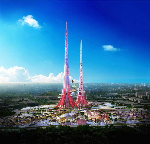 <p>When the world's tallest tower is built in Wuhan, China, it will also be one of the most environmentally friendly skyscrapers anywhere.</p>