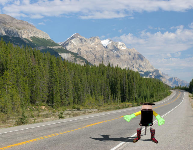<p>Horror movies have trained us not to trust hitchhikers. But what if that hitchhiker with his thumb sticking out were a cute little robot?</p>