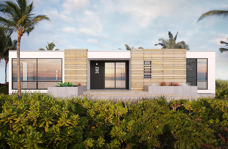 David rockwell is taking prefab to the luxury market co for Piani di cottage modulari