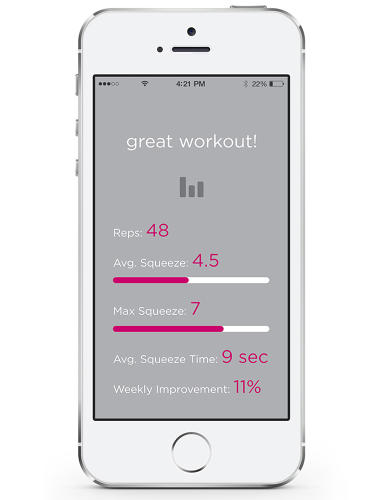 <p>By tracking progress over time, just like devices like FitBit, the app also helps motivate women to keep going when they otherwise might have stopped. &quot;One of the key things for us is the idea of making these exercises fun,&quot; says Thomas.</p>