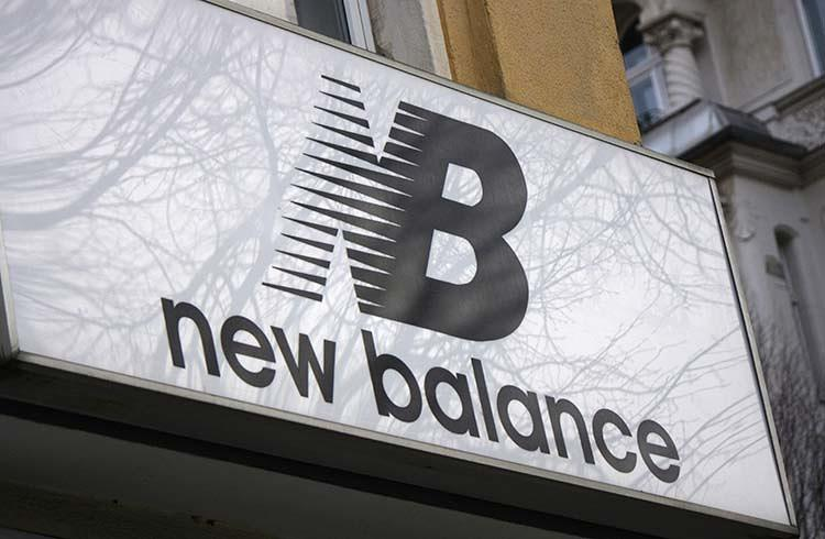 <p>The shoe company New Balance was ninth.</p>