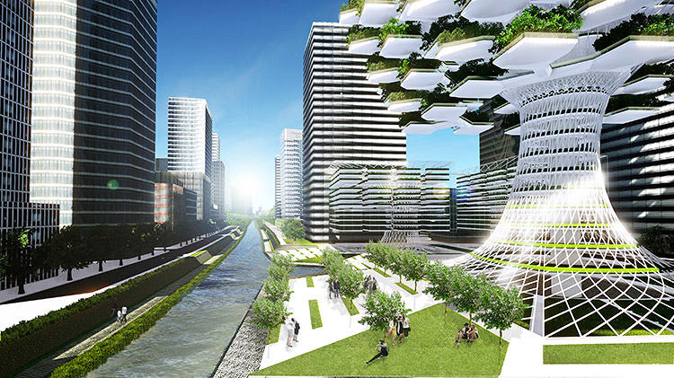 <p>The architects envision the project in the middle of downtown Seoul, South Korea. &quot;It seemed to be an ideal place to test out our prototype since the specific area is very dense and highly active and has been suffering for a long time by all sorts of environmental problems resulting from rapid urbanization,&quot; say Lee and Park.</p>