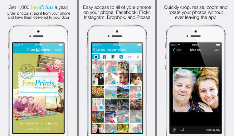 <p>Look, these photo sharing apps are great, but grandma's fridge hasn't featured a single real-life print since you got that newfangled iPhone. It sounds too good to be true, but based on its happy reviews, this app delivers on its promise of free photo prints. Heart, star, and thumbs-up stickers not included.</p>