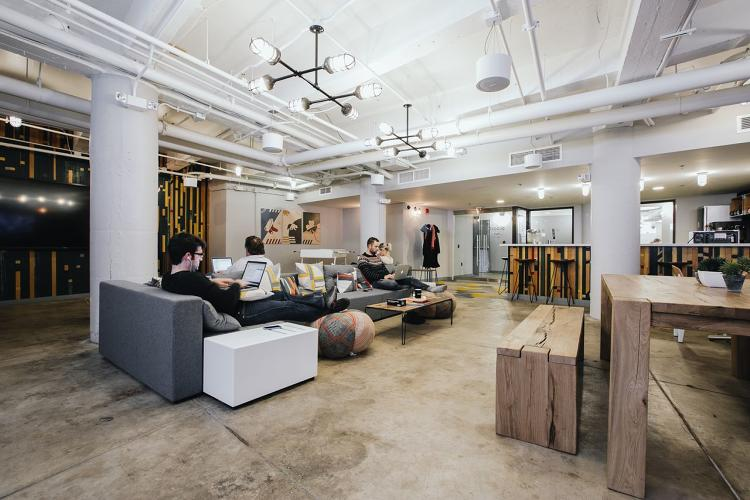 <p>&quot;It's more crucial to make sure people are connecting and brainstorming with each other.&quot;says Miguel McKelvey, cofounder of coworking office space</p>