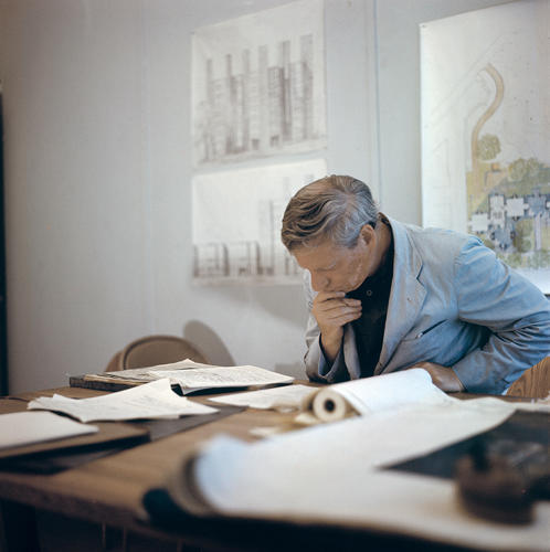 <p>Kahn, a visionary who was well-regarded in the field during his lifetime, is relatively unknown outside architectural circles.</p>