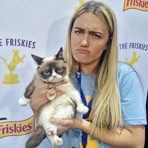 "<p>""I am Grumpy Cat's human,"" Tabatha Bundesen says when I ask her if she owns the cat. ""She owns me.""</p>"