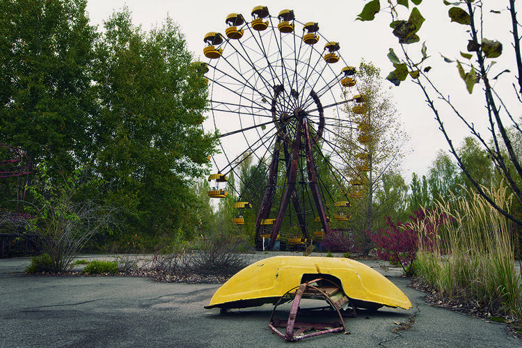 <p>A fairground in Chernobyl</p>