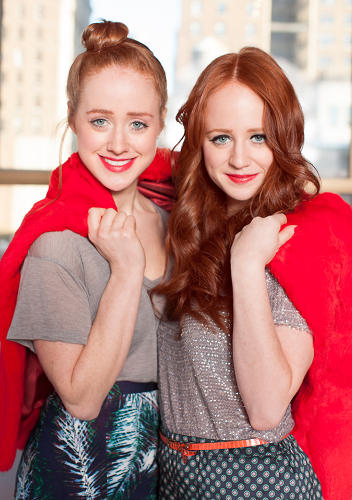 <p>Growing up red wasn't easy for the sisters, Stephanie and Adrienne.</p>