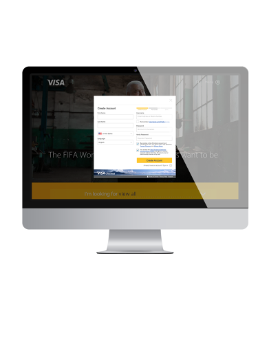 <p>When cardholders are ready to pay for their purchases at stores that accept Visa Checkout, they'll be prompted with a pop-up to log into their accounts, select their payment method, and shipping address.</p>