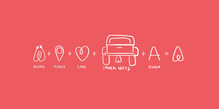 Lewd Barton Photo >> This Tumblr Shows Everything Airbnb's New Logo Looks Like, In Addition To A Vagina | Co.Create ...