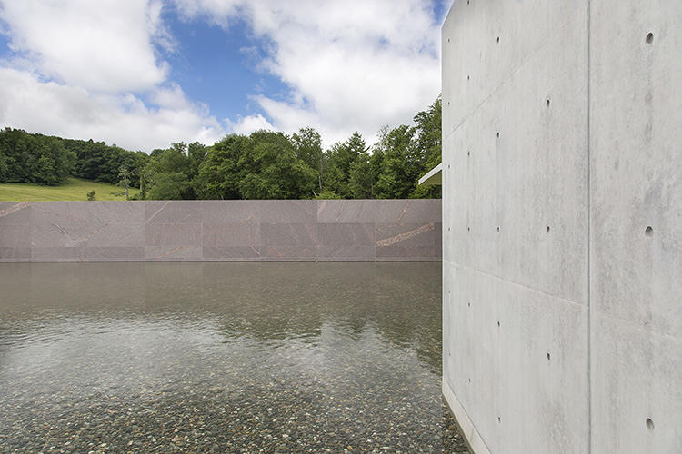 <p>But the two-story pool, designed by architect Tadao Ando and landscape architect Gary Hilderbrand, is more than meets the eye.</p>