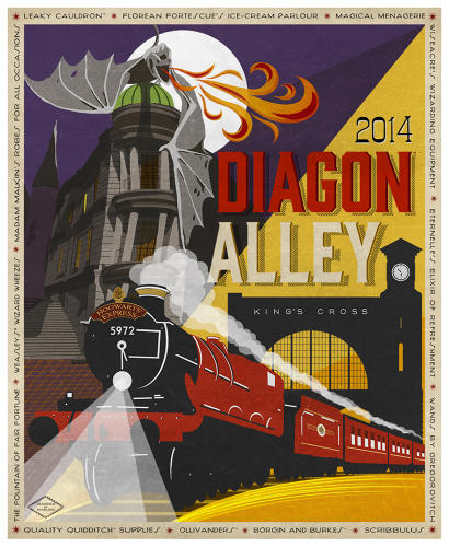 <p>Diagon Alley opened to the public on July 8.</p>