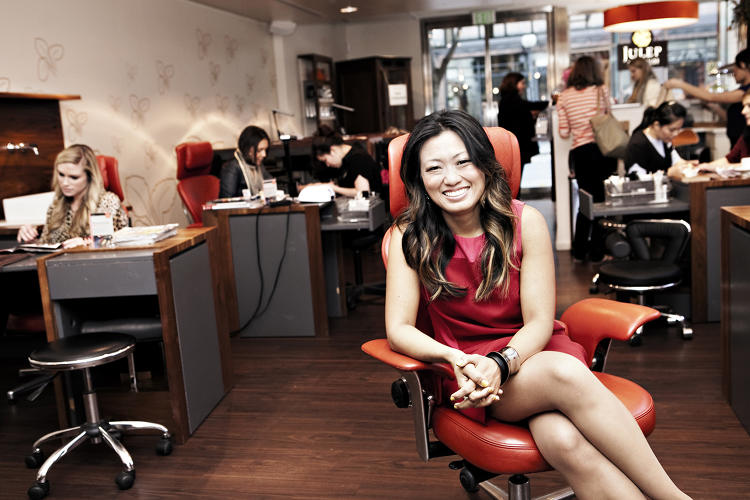 <p><strong>Jane Park</strong>, CEO of Julep</p>