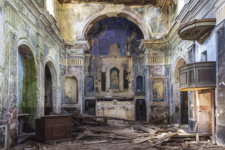 <p>Despite the three-plus decades that have passed, these villages still sit in ruin. Today, they're oddball Internet attractions for people fascinated by ghost towns.</p>