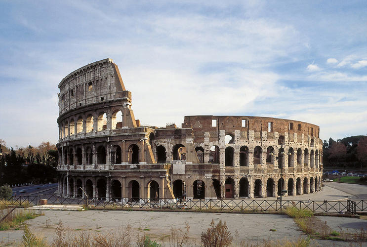 <p>The Colosseum, Rome, Italy, built between 70 and 80 AD</p>
