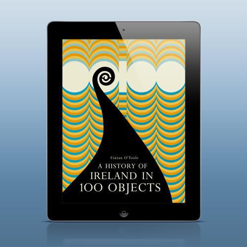 <p>A History of Ireland in 100 Objects--a present from the Irish government as &quot;a gift from the people of Ireland to the people of the world.&quot;</p>