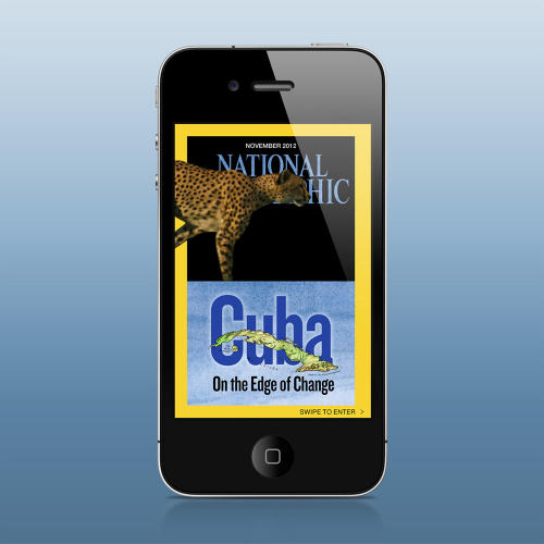 <p>The iPhone edition of <em>National Geographic</em>.</p>