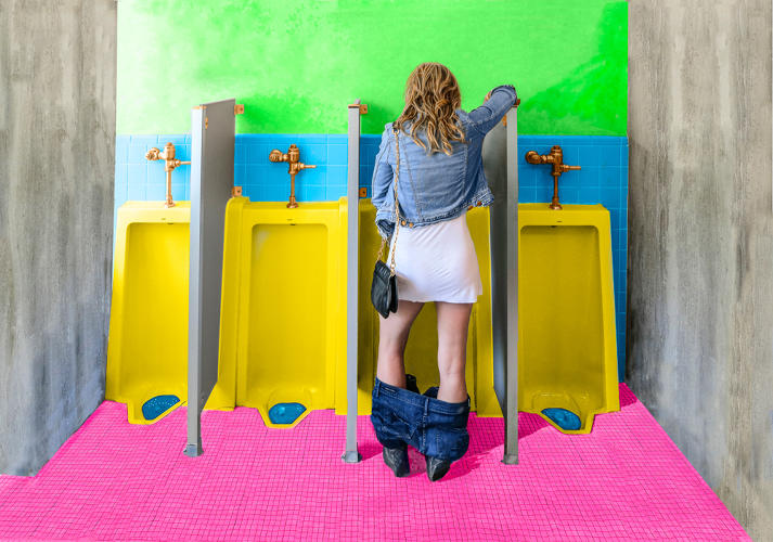 <p>&quot;I tried a number of different designs before I finally got to the one where I didn't pee on the floor,&quot; she says. &quot;It was also important that it was really aesthetically pleasing.&quot;</p>
