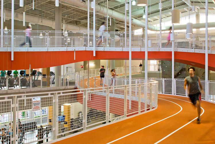 A look inside the most insane college gyms fast company for Cost of building a gym