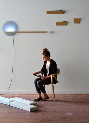 <p>&quot;I tried to design objects that modify our habits and try to engage the body differently in everyday life,&quot; says Malta.</p>
