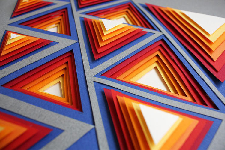 Paper-Art Posters Gorgeously Illustrate Key Design ...
