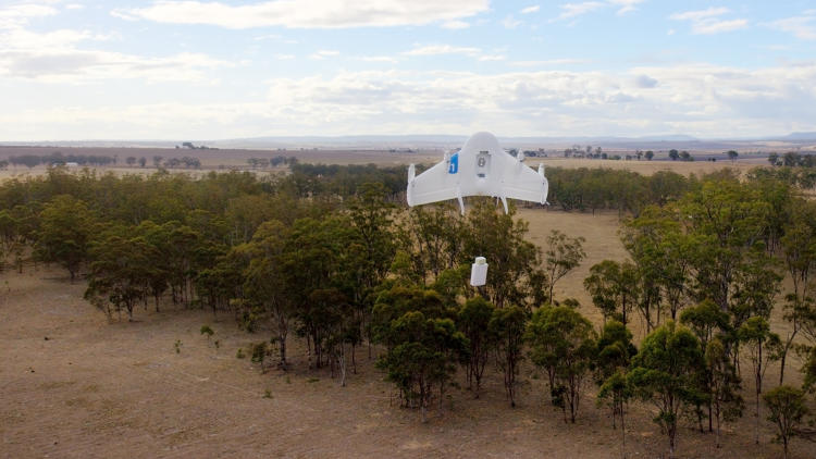 <p>Google has been working on a secret drone-delivery program called Project Wing since the end of 2011.</p>