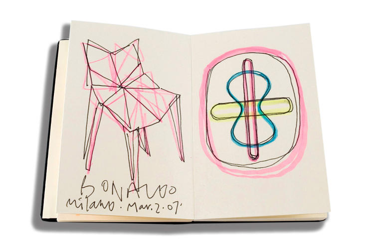 <p>As e-notebooks usurp the analog notebook, these Moleskines are a gorgeous reminder of the limits of digital.</p>