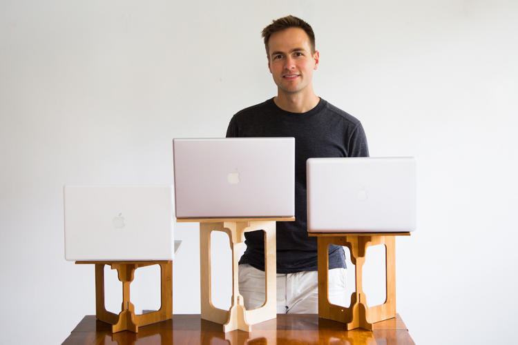 This Portable Standing Desk Lets You Stand And Work