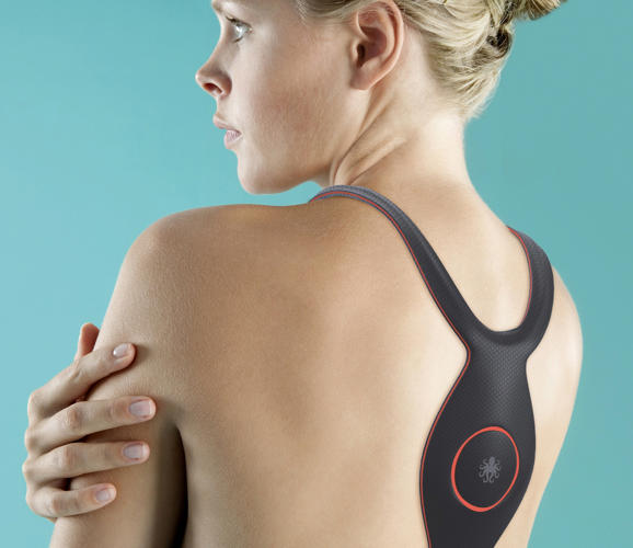 <p>Kineseowear is basically kinesio tape come to life.</p>