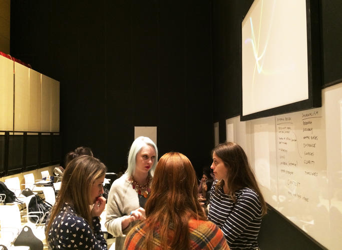 "<p>""The idea was to combine the rigorous critical thinking of a great liberal arts college with the creative design thinking of a great design school,"" Heather Chaplin, the program's director, tells Co.Design.</p>"