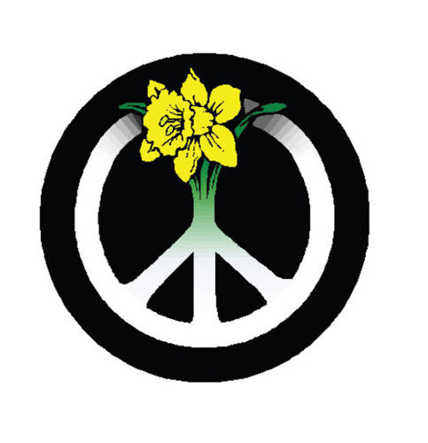<p>The symbol of CND Cymru (the Welsh Campaign for Nuclear Disarmament) features a daffodil – the national emblem of Wales.</p>